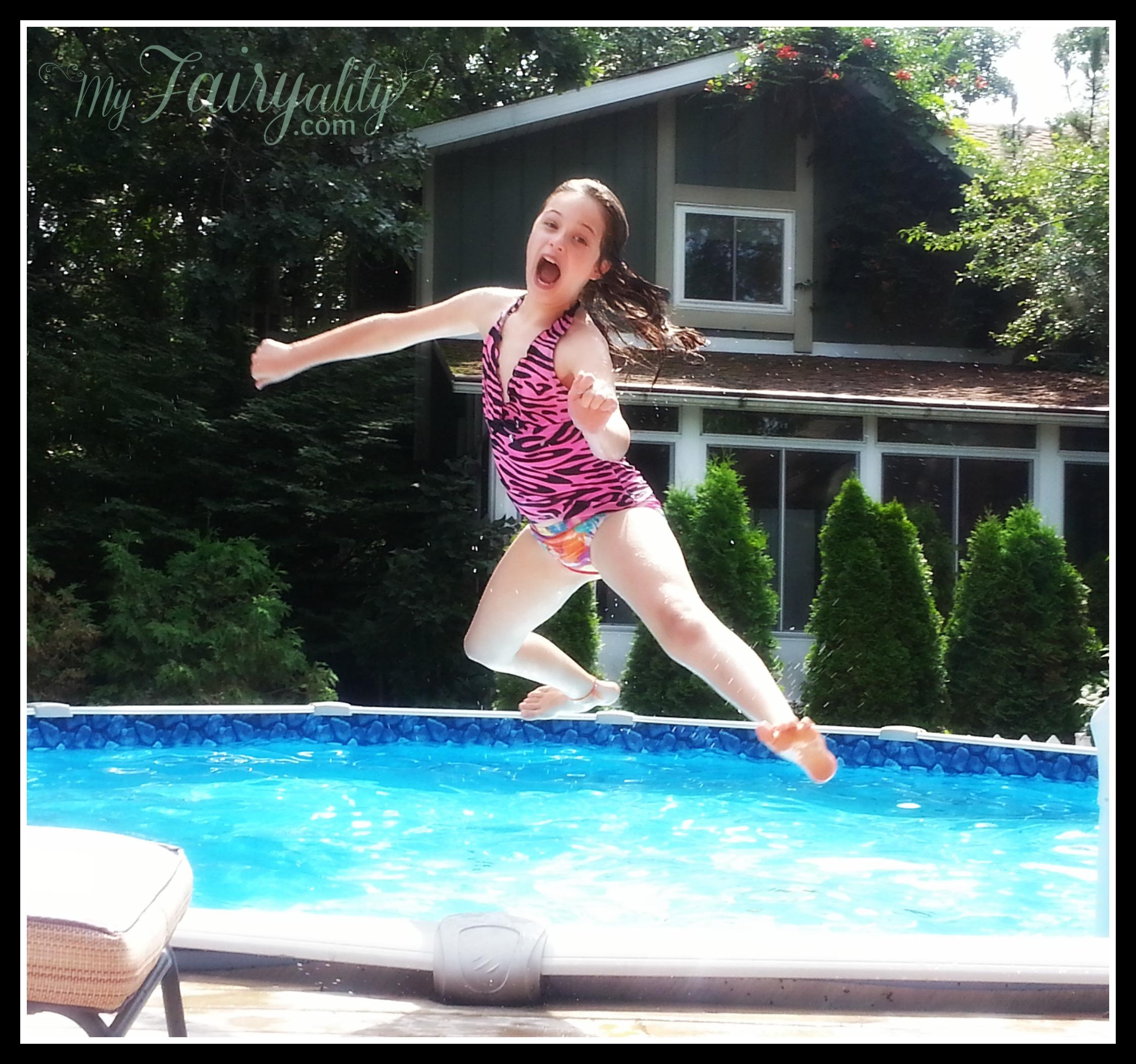 Ash jumping pool