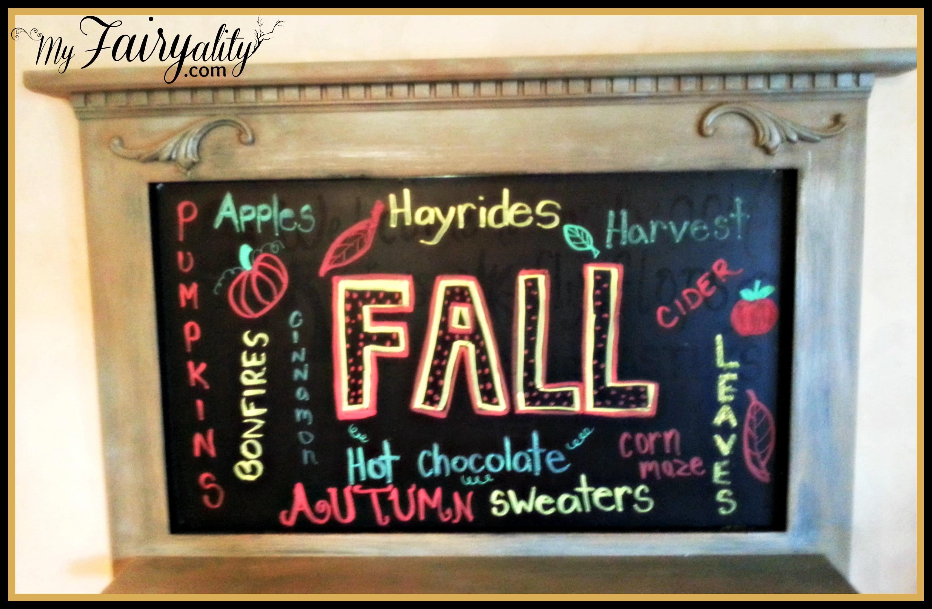 fall blackboard