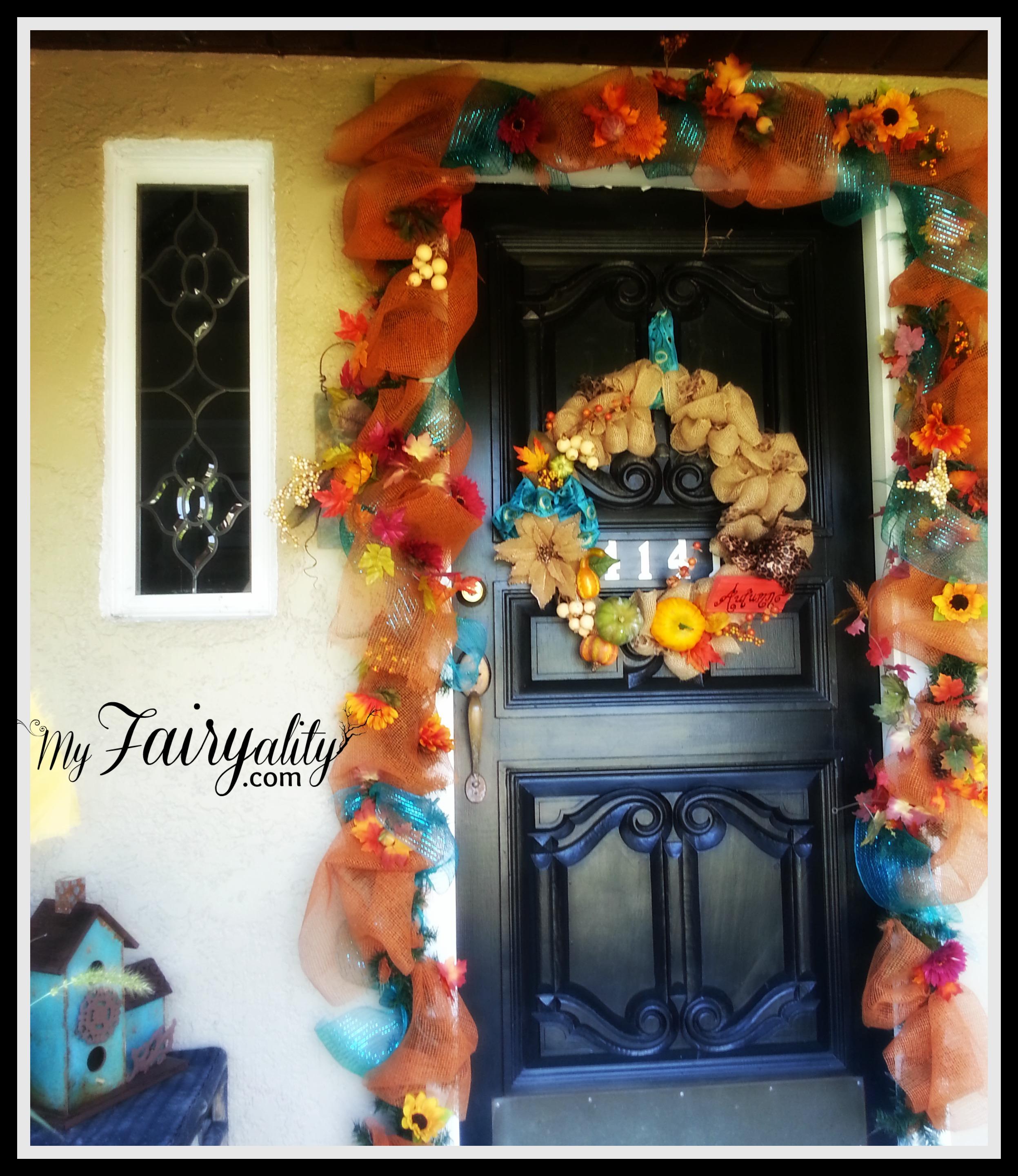 Fall front door 2013