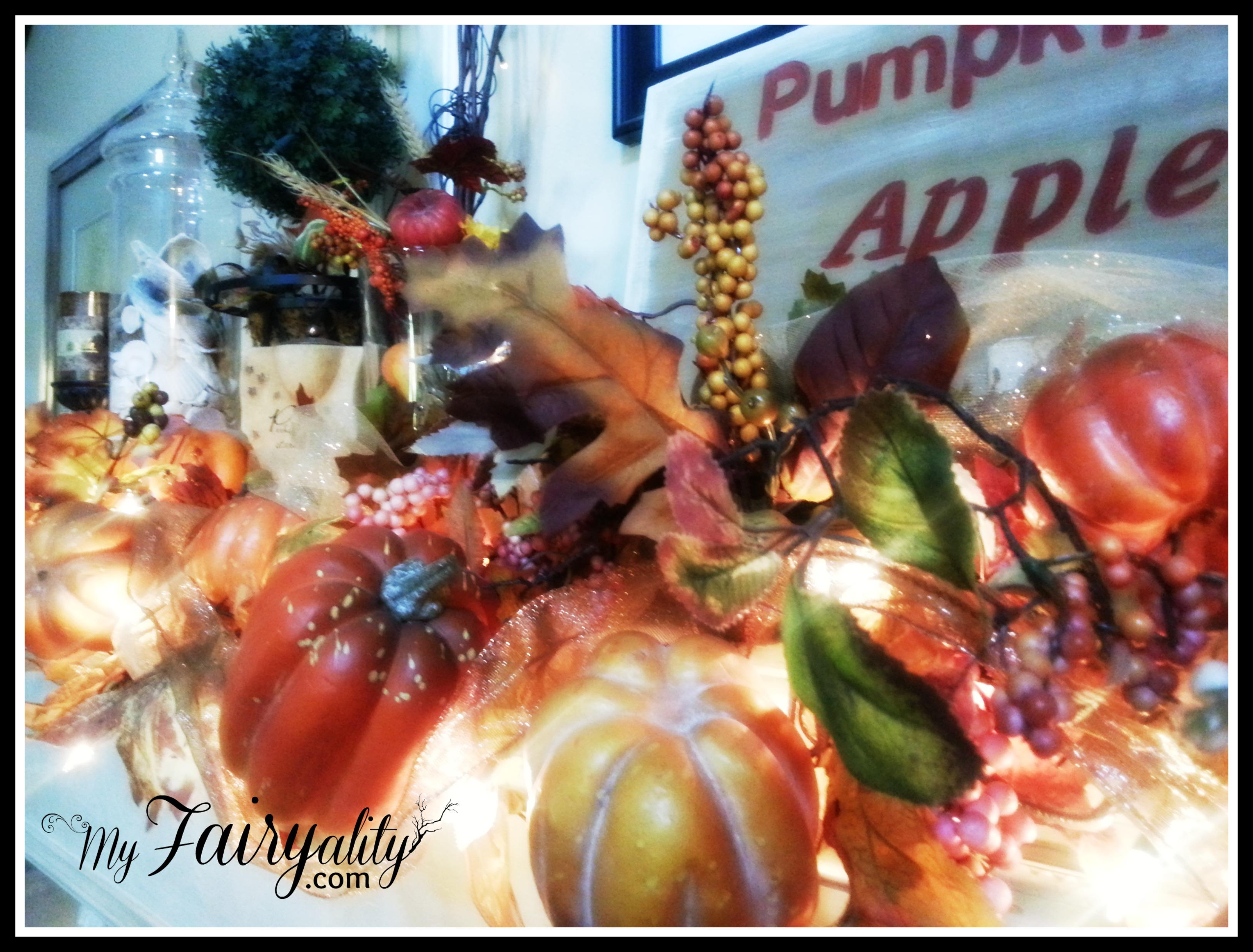 Fall garland FP Closeup
